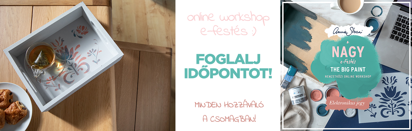 A nagy e-festés online workshop