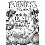 IOD - FARMERS MARKET 61x84cm festhető bútortranszfer