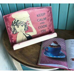 Szakácskönyv tartó Crem-Bordó