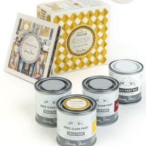TILTON (mustár) DEKORÁCIÓS FESTÉK KÉSZLET - Annie Sloan Charleston kollekció