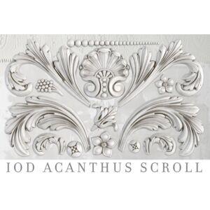 Acanthus Scroll bútordísz öntőforma
