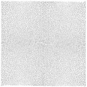 IOD CRAQUELURE 30X30 CM - dekor pecsét