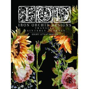 IOD - Painterly Florals bútortranszfer