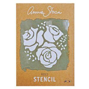 Annie Sloan-ROSES  - stencil