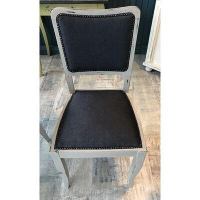 Szürke antikolt szék