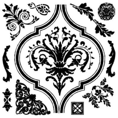 ARABESQUE 30,5x30,5 CM - dekor pecsét