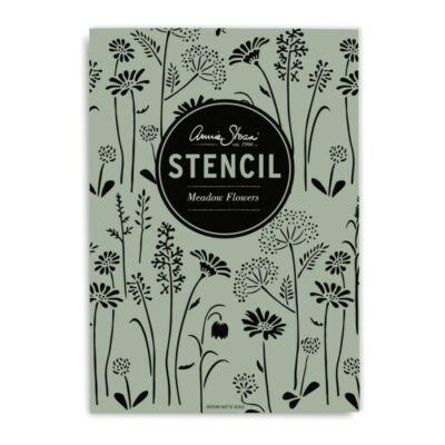 annie sloan meadow flowers stencil