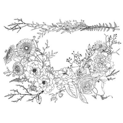 IOD - WINTER'S SONG 61x84cm festhető bútortranszfer