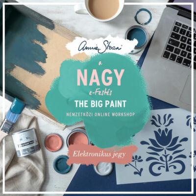 A Nagy e-Festés ONLINE workshop