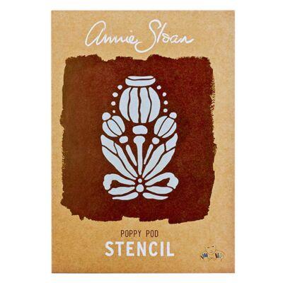 Annie Sloan-POPPY POD  - stencil