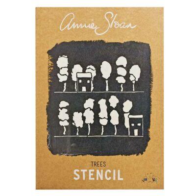 Annie Sloan - TREES - stencil